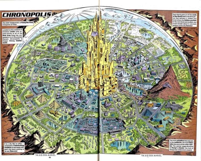 Chronopolis nei fumetti Marvel