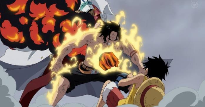 L'inaspettata morte di Ace in One Piece
