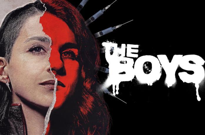 Aya Cash è Stormfront nel poster promozionale di The Boys