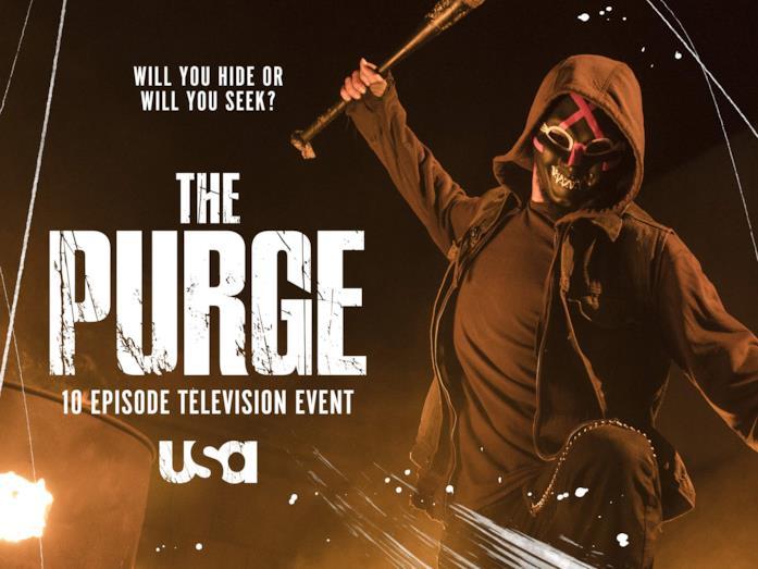 The Purge: il poster della serie TV