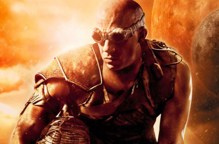 Vin Diesel è Riddick nel poster del film
