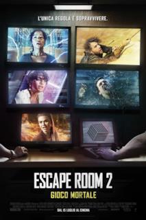 Poster Escape Room 2 - Gioco mortale