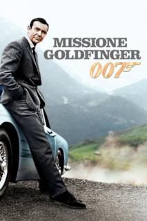 Poster Agente 007 - Missione Goldfinger