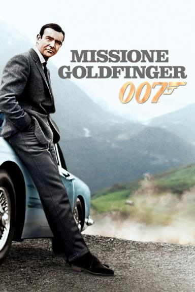 Poster Agente 007 - Missione Goldfinger