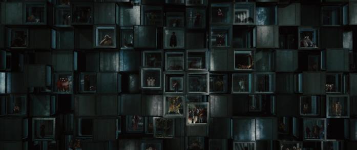 Le decine di mostri del film