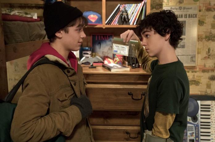 I due giovani protagonisti Shazam