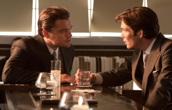Leo DiCaprio e Cillian Murphy in una scena del film