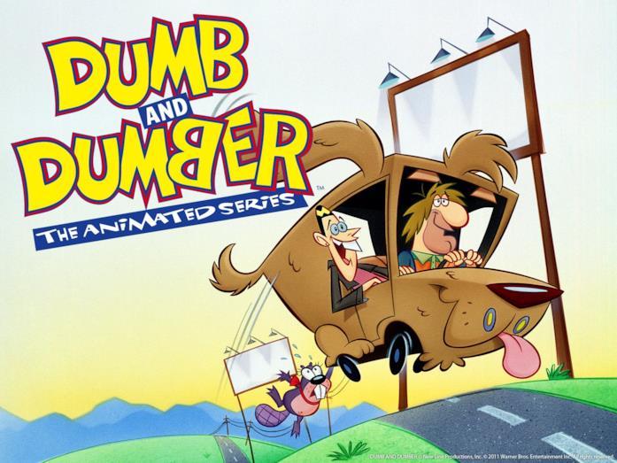 Hanna-Barbera produce una serie ispirata ai personaggi diScemo & più scemo