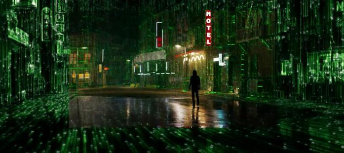 La città trasformata da Matrix