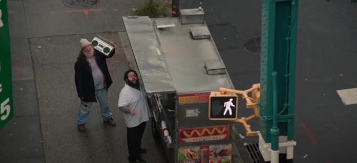Il venditore di hot dog in Spider-Man: Homecoming