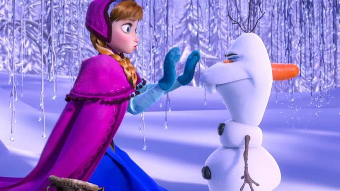 Il cast di Frozen
