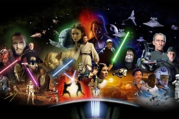 Immagine dei personaggi di Star Wars
