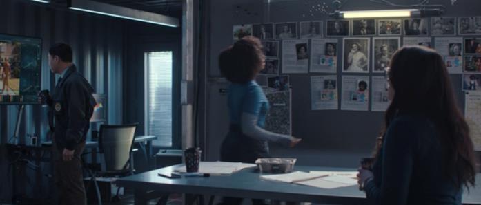 Nella stanza dell'FBI in WandaVision