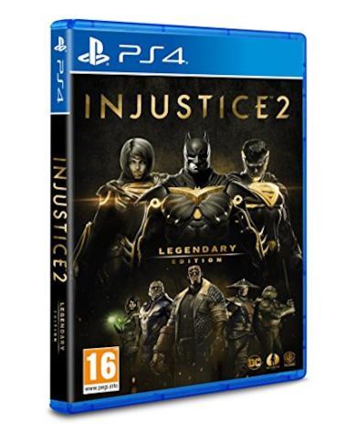 Injustice 2 - Legendary Edition (GOTY) - PlayStation 4