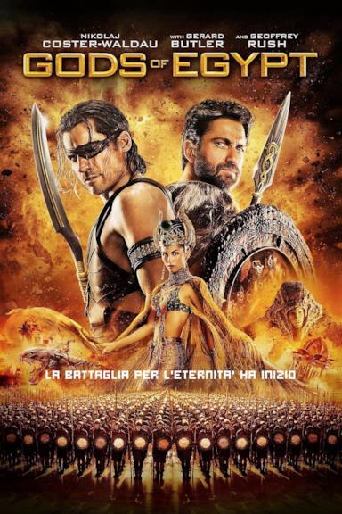 Poster Gods of Egypt