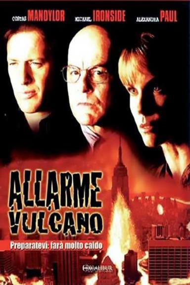 Poster Allarme Vulcano