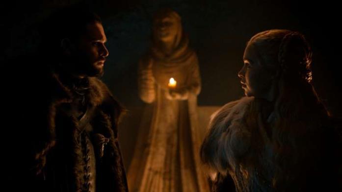 Jon e Daenerys a Grande Inverno