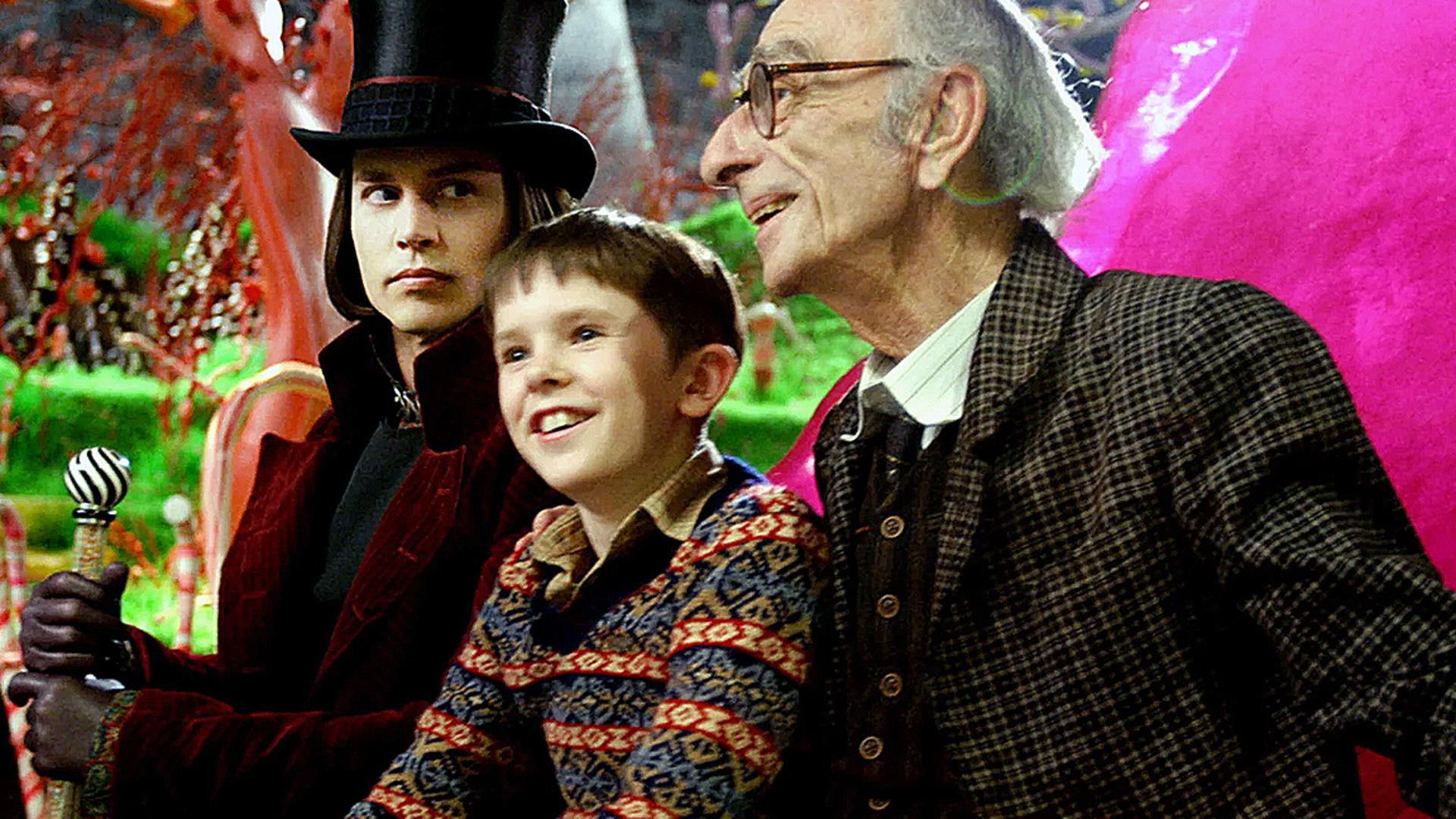 La Fabbrica Di Cioccolato Personaggi E Cast Del Film Con Johnny Depp