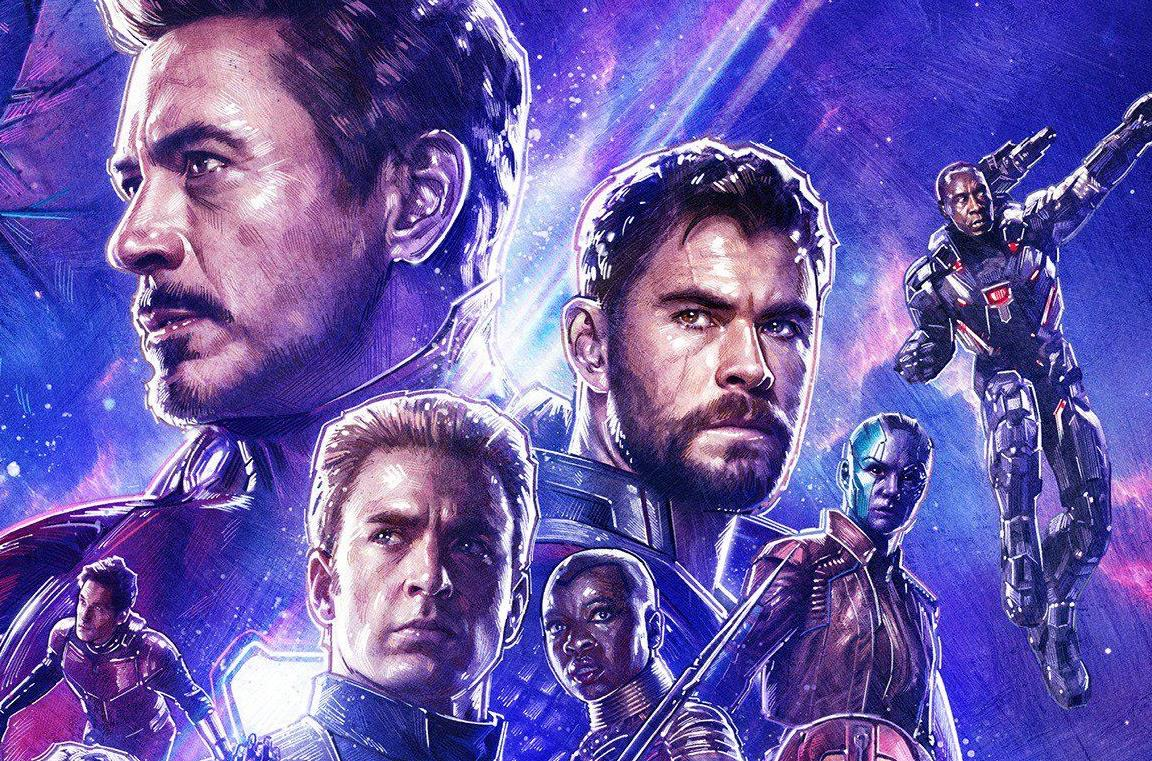 Un primo piano di Robert Downey Jr. in Avengers: Endgame