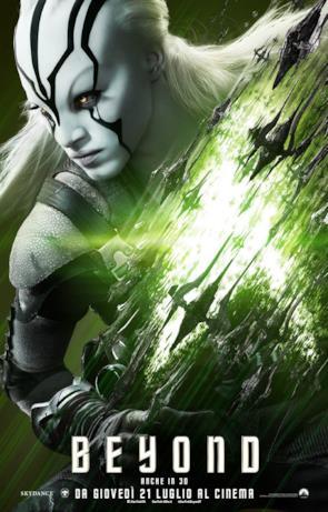 Star Trek: Beyond, ecco il character poster di Jaylah