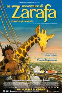 Poster Le avventure di Zarafa - Giraffa giramondo