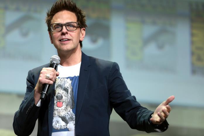 James Gunn in uno scatto dal Comic-Con di San Diego 2016