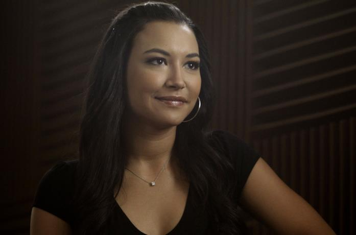 Naya Rivera in un episodio della serie Glee