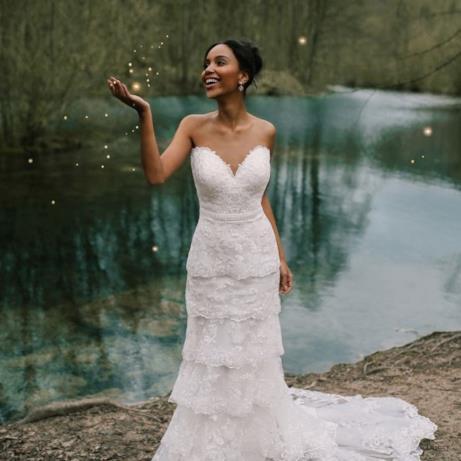 L'abito da sposa ispirato a Tiana