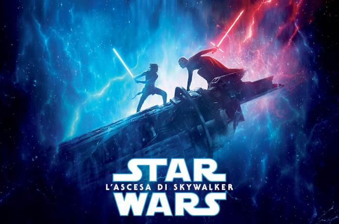 Rey combatte contro Kylo Ren nel poster di Star Wars: L'Ascesa di Skywalker