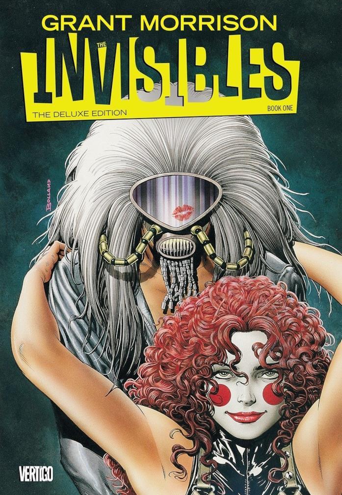 La copertina di The Invisibles