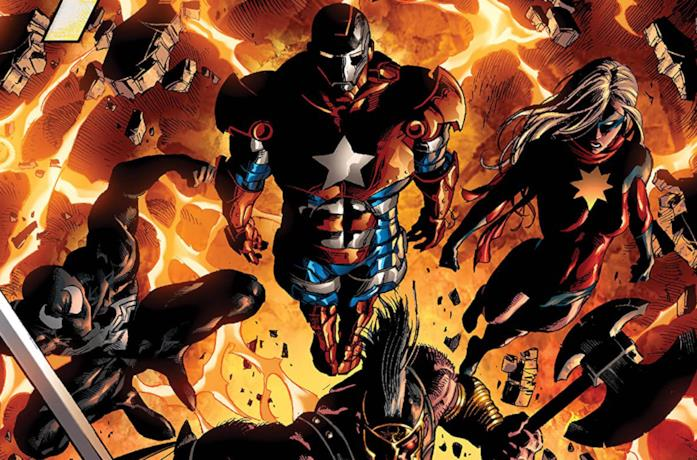 Cover di Dark Avengers by Brian Michael Bendis: The Complete Collection