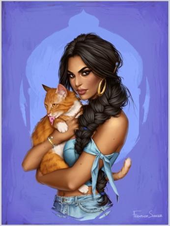 Una versione contemporanea di Jasmine