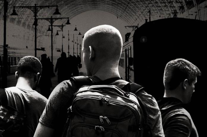I tre protagonisti di 15:17 - Attacco al treno