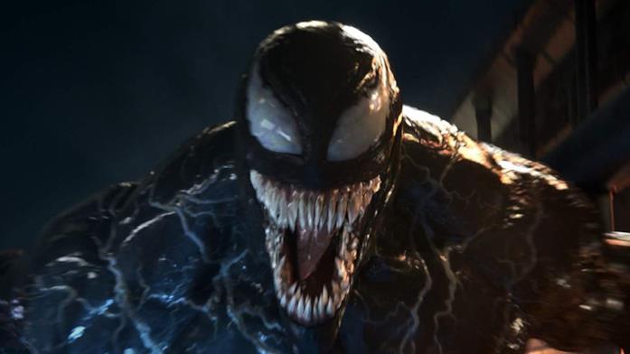 Venom nel film del 2018