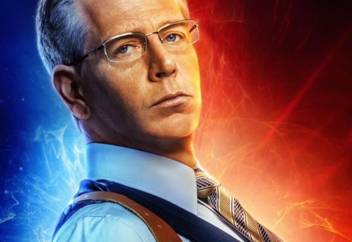 Ben Mendelsohn nei poster di Captain Marvel