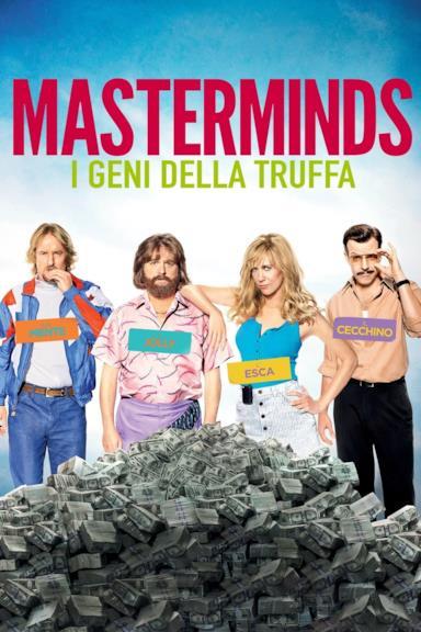Poster Masterminds - I geni della truffa