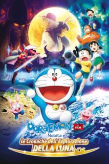 Poster Doraemon: Il film - Nobita e le cronache dell'esplorazione della Luna