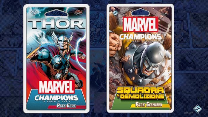I nuovi pack d'espansione di Marvel Champions
