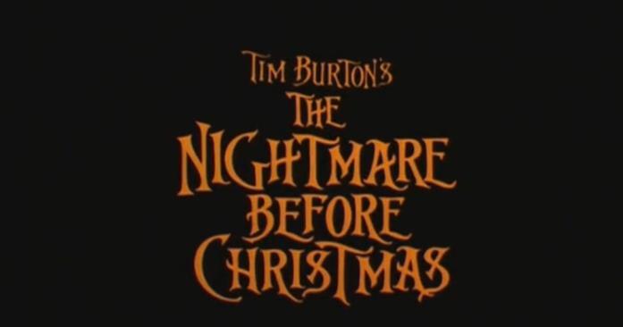 Tim Burton compare nel titolo di The Nightmare Before Christmas, ma non è il regista