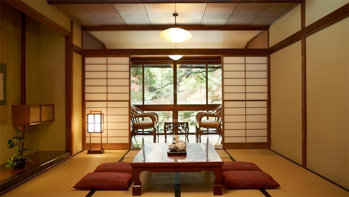 Primo piano di una stanza del ProPILOT Park Ryokan