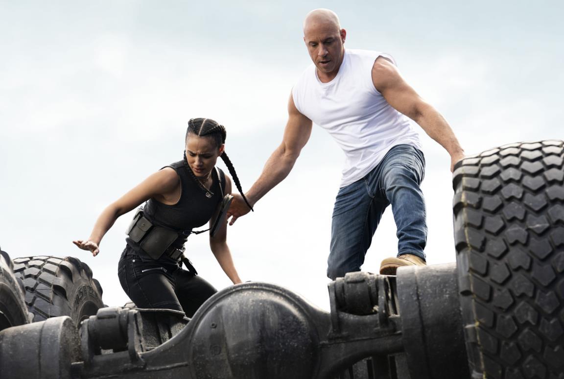 Dominic Toretto in azione