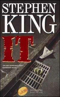 La copertina del romanzo It