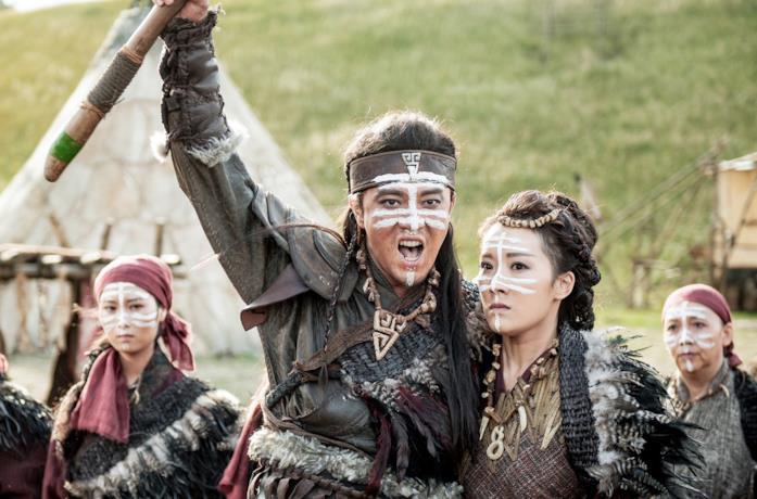 Una scena della serie TV Tribes and Empires - Le profezie di Novoland
