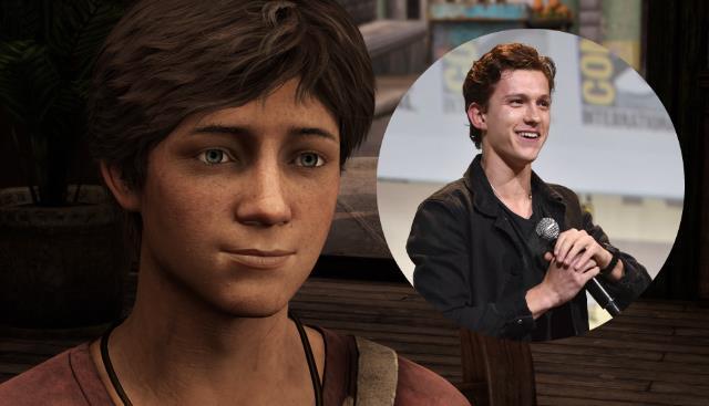 Tom Holland da Spider-Man ad Uncharted
