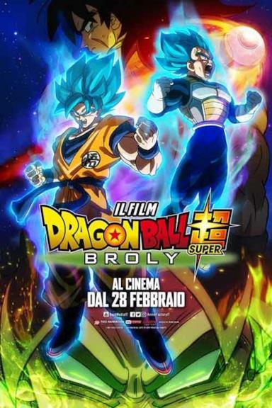 Poster Dragon Ball Super - Broly
