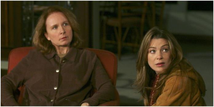 Meredith e sua madre Ellis in una scena di Grey's Anatomy
