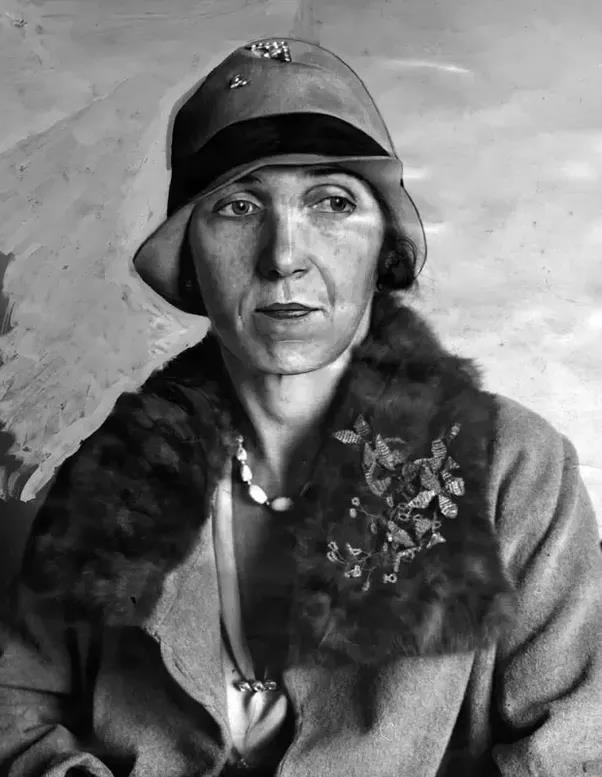 Un'immagine della vera Christine Collins