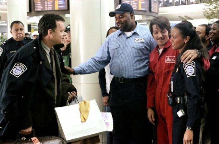 Scena di The Terminal
