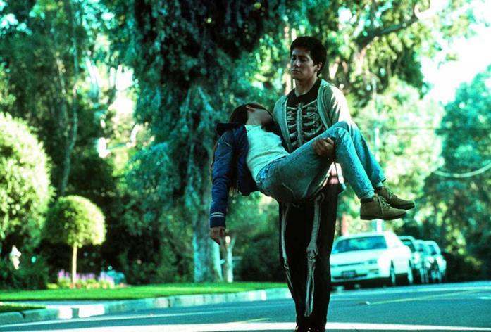 Jake Gyllenhaal e Jena Malone, protagonisti di Donnie Darko