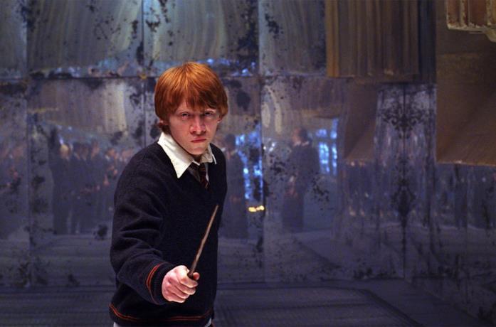 Rupert Grint è Ron Weasley